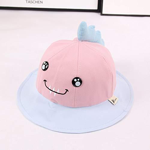 Artículos de moda Sombrero de pescador de dinosaurio pequeño para niños súper lindo y lindo bordado sombrero de sol para bebé infantil sombrero de lavabo para niños de moda coreanaRegalo de vacaciones