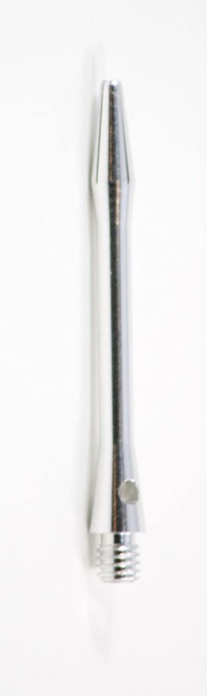 US Darts  Silver Aluminium Dart Shafts  3 sets (9 shafts), 2BA Short (3.8cm ), + O'rings