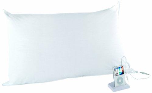 Kanguru Goodnight Almohada, algodón, Blanco, 75x45 cm