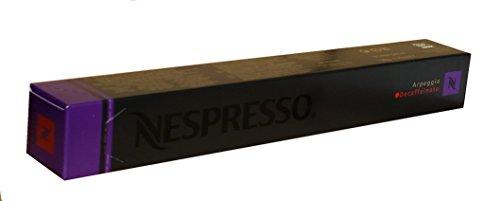 Nespresso Kapseln Arpeggio Decaffeinato - 1er Pack, 10 Kapseln (lila) - Entkoffeiniert