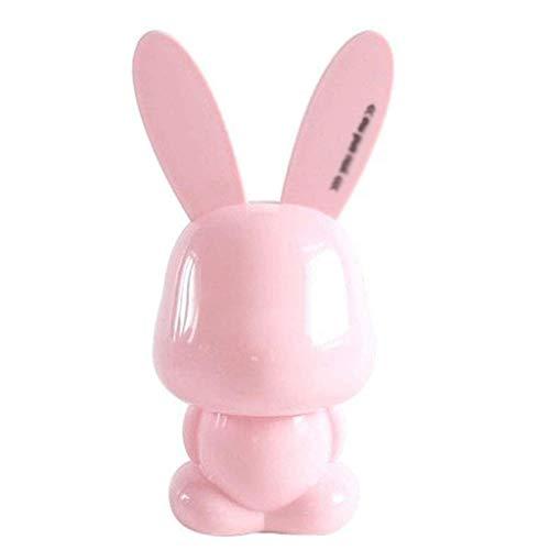 JYDQM Hucha Conejo Hucha Resistente A Roturas For Enviar Regalos For Niños Regalos (Color : Pink)