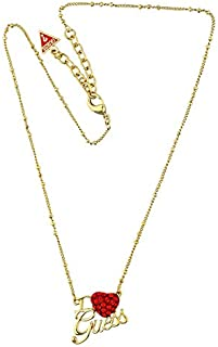 Guess Alloy Necklace for Women Gold UBN81081