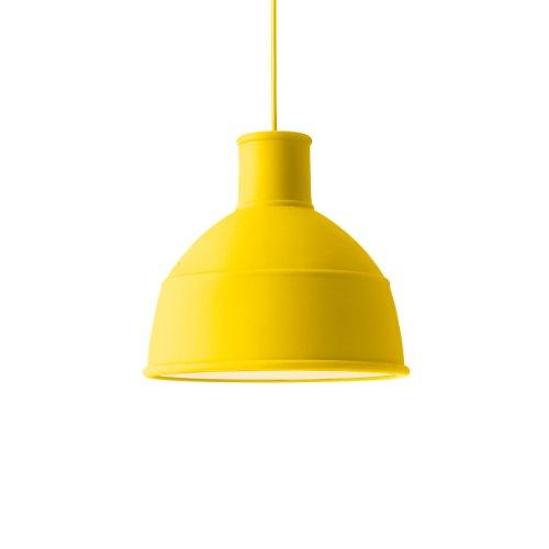 Muuto - Lampada applique da parete Unfold, colore: Giallo
