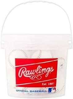 Rawlings 8 Pack Bucket of Balls