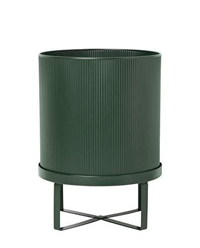 Ferm Living - BAU Pflanztopf, Ø 28 x H 38 cm, dunkelgrün