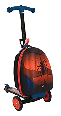 Spider-Man M004064 Scootin Suitcase, Red
