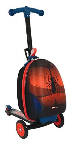 Spider-Man M004064 - Maleta para scootin, Color Rojo
