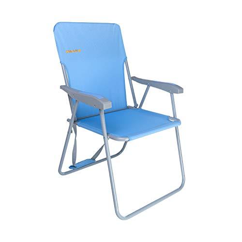 #WEJOY Klappstuhl Leicht Tragbar Campingstuhl Faltbar Stark Stabil Langlebig für Garten Balkon und Festival Outdoor als Angelstuhl Camping Stuhl Max Hold bis 136 Kg (300 Lbs)