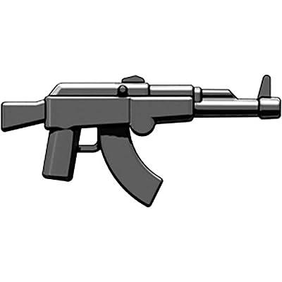 BrickArms 2.5 Scale LOOSE Weapon AK Assault Rifle Black