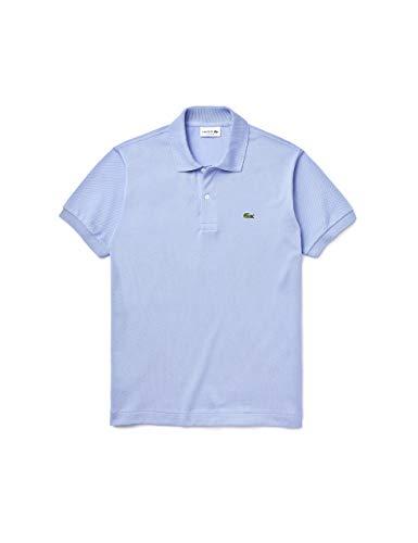 Lacoste L121200 Camicia con Collo e Bordo Laterale, Violet (Purpy Z0G), L Uomo