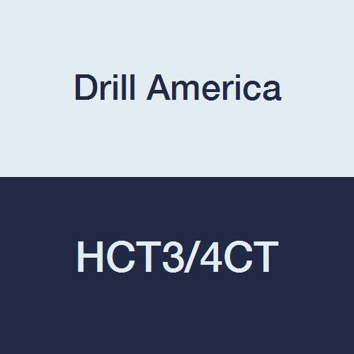 Drill America Ranking TOP20 HCT3 4CT Carbide Tipped 3 4