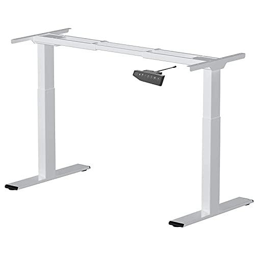 FLEXISPOT E2S Marco de Escritorio de Pie con Altura Ajustable Eléctrica, Standing Desk, Escritorio...