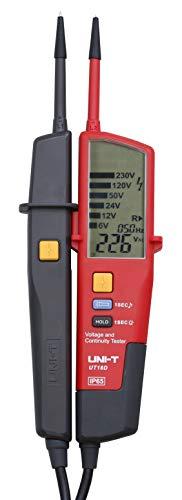 Uni-T UT18D Spannungs- und Durchgangsprüfer, LED-/LCD-Anzeige, Auto-Range, Voltdetektoren, Stift, Hintergrundbeleuchtung