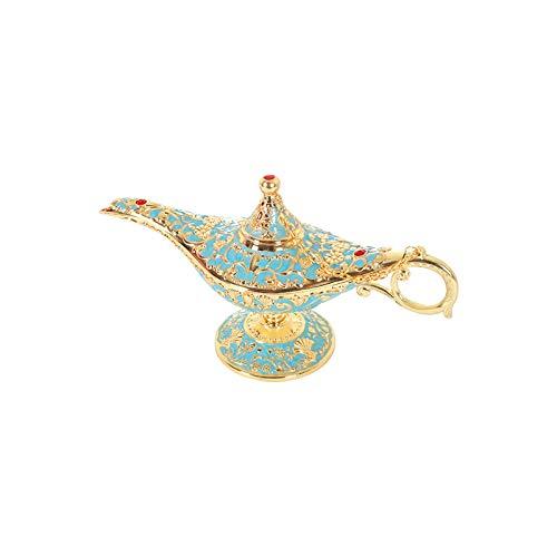 LQKYWNA Lámpara De Aladdin Genie Legend Aladdin Light Lámpara De Disfraz Coleccionable Vintage Que Deseen Luz con Caja De Regalo Decoración De Escritorio