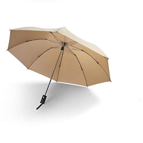 NFHMAN Parapluie Pliant Automatique De Haute Qualité Pluie Hommes Et Femmes Coupe-Vent Inversé Parapluie Pliant Voiture Inversée