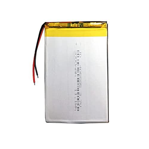 1pcs 3.7v 3000mah 405585 Batería Recargable De PolíMero De Litio, para Altavoz Bluetooth Banco De Energía Mp4 Mp5 Juguetes Led Potencias De Respaldo Grabadora De Voz