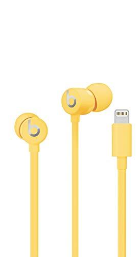 Beats urBeats3 Earphones with Lightning Connector – Yellow (Renewed)