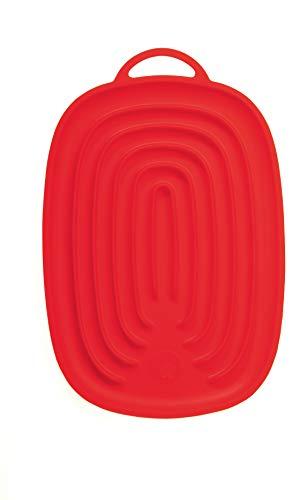 Kochblume Silikon Multiablage (rot)