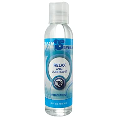 Cleanstream Relax Desensitizing Anal Lube, 4 Fluid Ounce