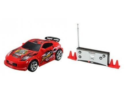 Gen 13 Mini Voiture Sport Rouge radiocommandee 7cm - Drift tin Cars - vehicule