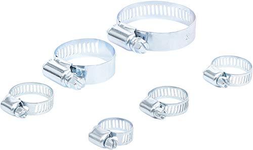 Kraftmann 80855 | Assortiment de colliers | Ø 4 - 45 mm | 6 pièces