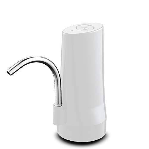 SCDSRQ Bomba de Agua Pura embotellada eléctrica de Dispositivos de aspiración del Cubo de Agua Mineral hogar automático dispensador del Agua del prensatelas (Color : B)