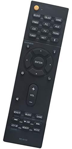 ALLIMITY RC-911R RC911R Telecomando Sostituisci per Onkyo AV Audio Receiver HT-S7800 TX-NR555 TX-NR575 TX-NR656 TX-NR676 TX-NR686 TX-NR757 TX-NR777 TX-NR787 TX-RZ610 TX-RZ710 TX-RZ720 TX-RZ810