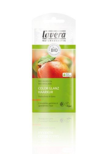 Lavera Mangomilch-Haarkur Für coloriertes Haar und Farbschutz (Sachet im Tray), 25 ml