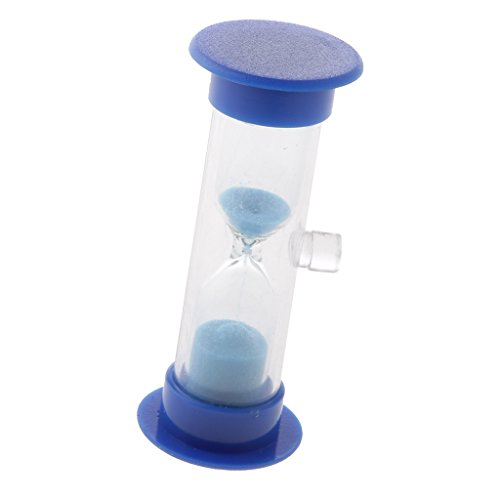 Saugnapf Sanduhr 3 Min Zahnputzuhr Eier Uhr Kochen Uhr Zähne putzen Minuten - Blau