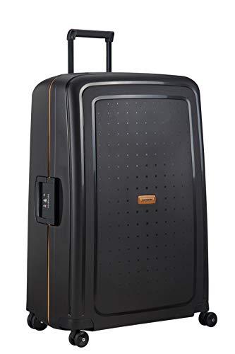 Samsonite S'Cure Eco - Spinner XL Koffer, 81 cm, 138 L, Schwarz (Eco Black)