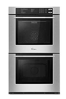 Empava 30 in. Electric Wall Oven with Self-cleaning Convection Fan Touch Control in Stainless Steel Model 2020