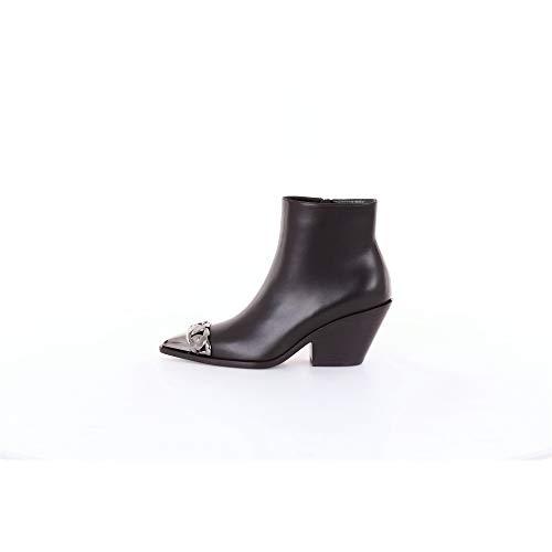 Casadei Damen Stiefel schwarz, Schwarz - Schwarz - Größe: 38 EU