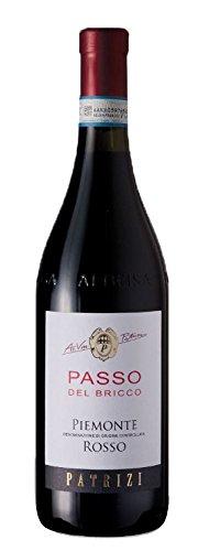 12x 0,75l - 2017er - Patrizi - Passo del Bricco - Rosso - Piemonte D.O.C. - Italien - Rotwein trocken