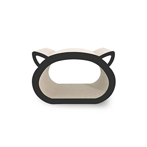 CML Home Apariencia Exquisita Suministros Cat Scratch cartón Ondulado de Papel del Gato del Gato Cabeza Columpio Gato Junta Uña de Gato de Juguete Garras de Gato Fácil Instalación
