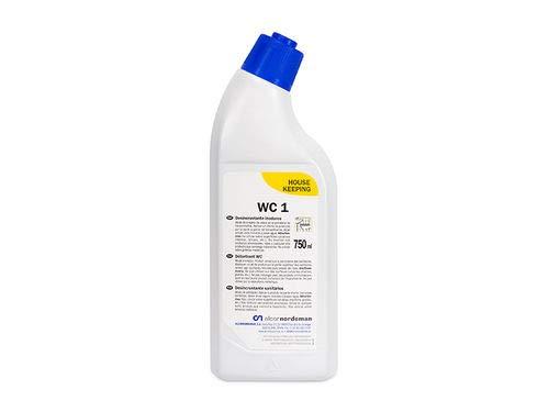 Alcornordeman WC-1: Desincrustante inodoros. Potente Limpiador de carácter ácido para Limpieza de inodoros. 750 ml