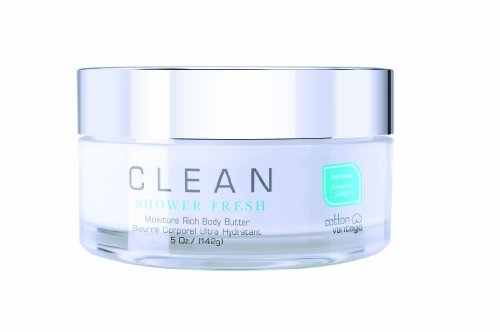 Clean Shower Fresh, Moisture Rich Body Butter, 5 Fluid Ounce by Clean