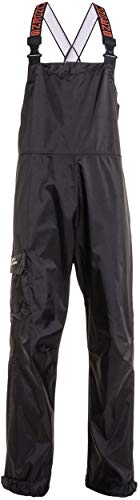 Grundéns Men's Weather Watch Fishing Bib Trouser, Black - Large