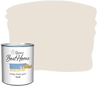 The Spruce Best Home by KILZ 14304 Chalky Finish Paint, 1 Quart, SPR-C05 Warm Linen