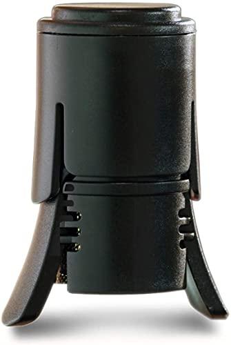 LE CREUSET SW-106 Tappo per Vini Frizzanti, Policarbonato, Nero