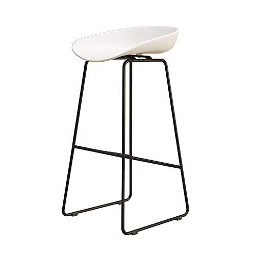 AXJB 1 Stks Barkrukken - Antislip voetpads, Seat Bar Stoelen Metalen Benen Barkrukken Hoge krukken/Tuin/Eetkamer/Bar