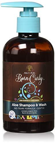 Champú y gel de Aloe Born Curly. Certificado orgánico