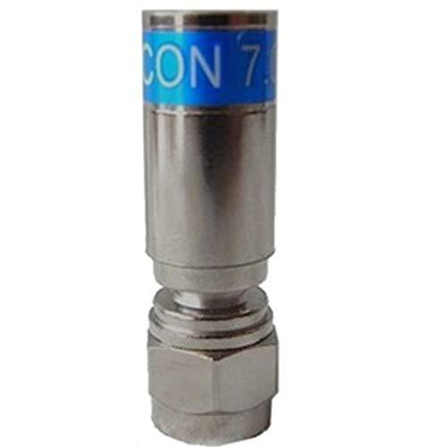 10 Stück Cabelcon F-56 CX3 7.0 QM Quick Mount Stecker für RG6 (7 mm) Kabel, WASSERDICHT!