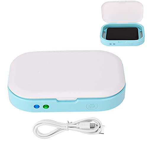 Boîte de nettoyage UV, boîte de nettoyage de lumière ultraviolette d'aromathérapie pour outils cosmétiques de brosse à dents clés de bijoux de téléphone portable