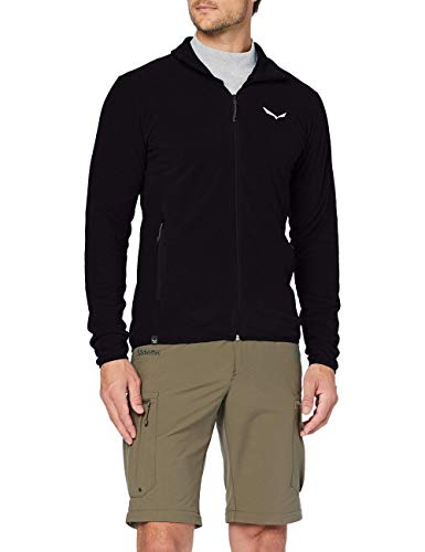 Salewa 00-0000027564_910 Polaire Homme, Black Out, FR : L (Taille Fabricant : 50/Large)