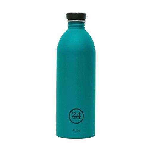 24 Bottles Atlantic Bay Trinkflasche 1 Liter steel