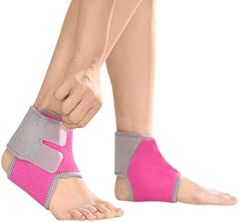 2 PCS Kids Children Ankle Brace Protector Adjustable AnkleTendon Compression Brace Foot Support product image