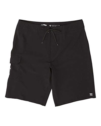 Billabong All Day Pro Shorts, Hombre, Black, 32