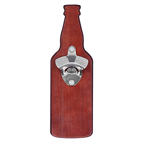 Wosune Sacacorchos, abridor de Botellas casero Conveniente abridor de Botellas magnético de Metal Fuerte 10.4x3.3in para Fiestas para Bares