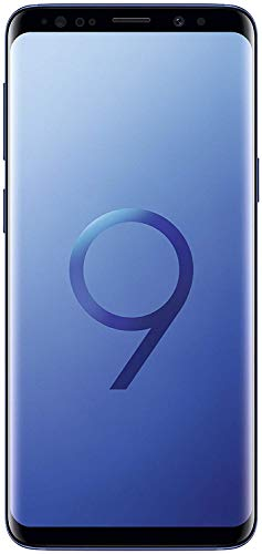 Samsung Galaxy S9 Unlocked Smartphone - Coral Blue - (Renewed)