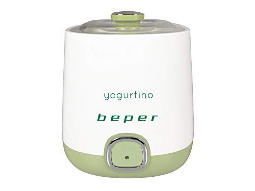 Beper BP.950 Yogurtiera, 1 Liter, Plastica